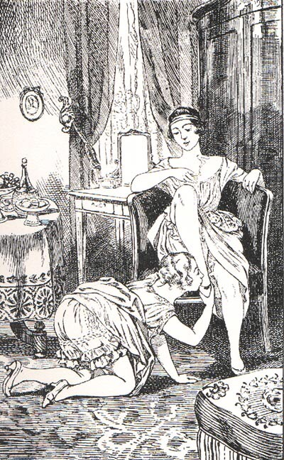 Illustration for La Comtesse au Fouet (1926) - Martin van Maële