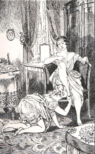 Illustration for La Comtesse au Fouet (1926) - Martin van Maële