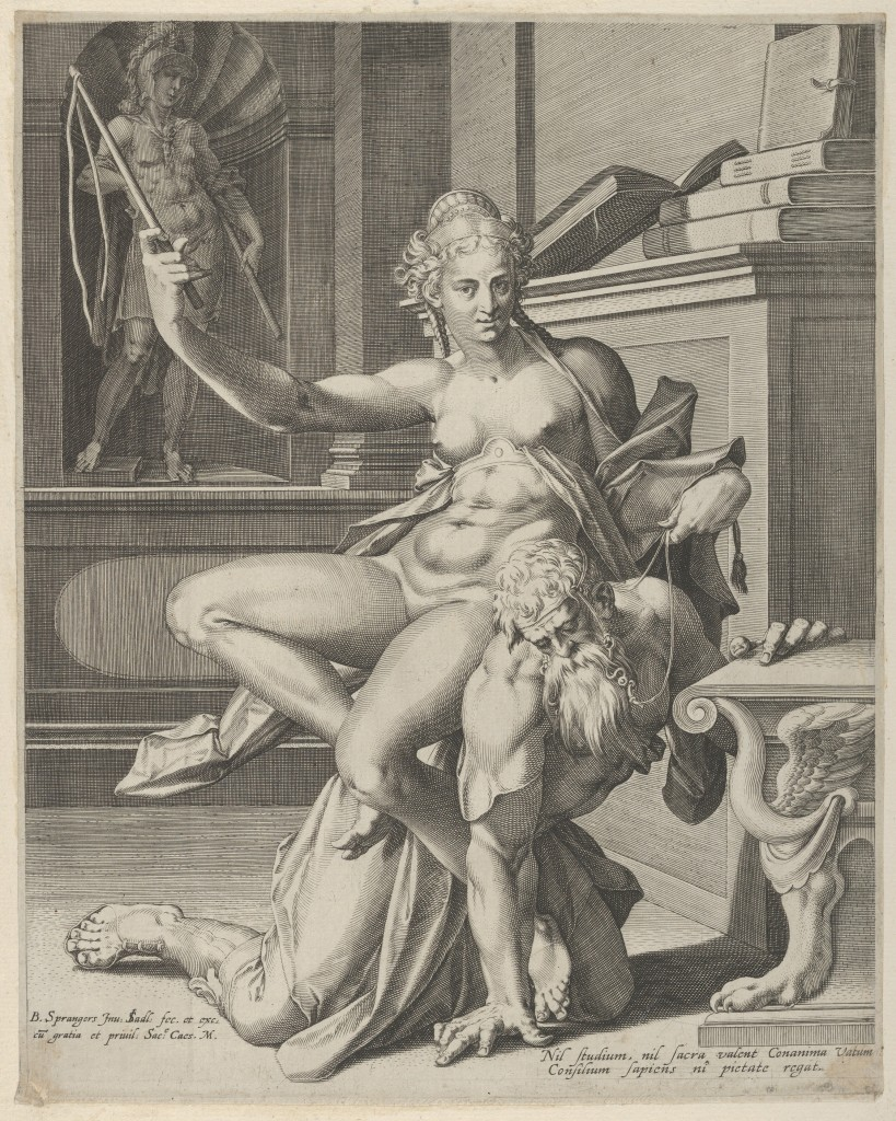 Phyllis & Aristotle (16th c.) - Bartholomeus Spranger