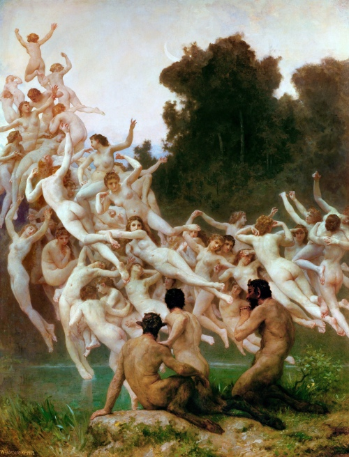 Les Oreades (1902) - William-Adolphe Bouguereau