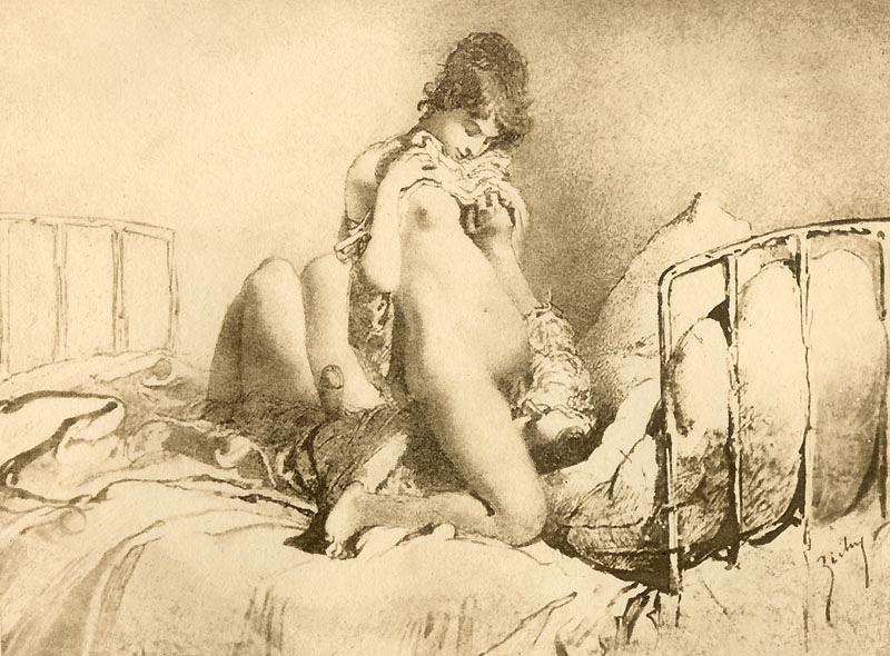 Love (c. 1911) - Mihàly Zichy