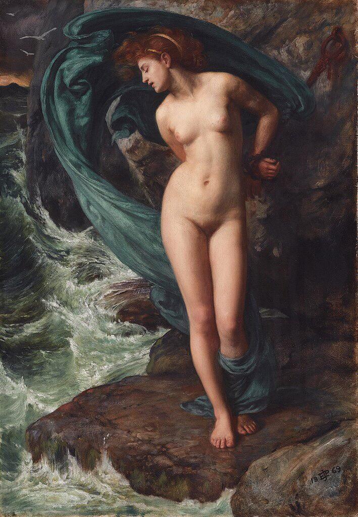 Andromeda (1869) - Edward Poynter