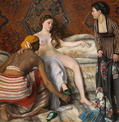 La Toilette (1869-1870) - Frédéric Bazille