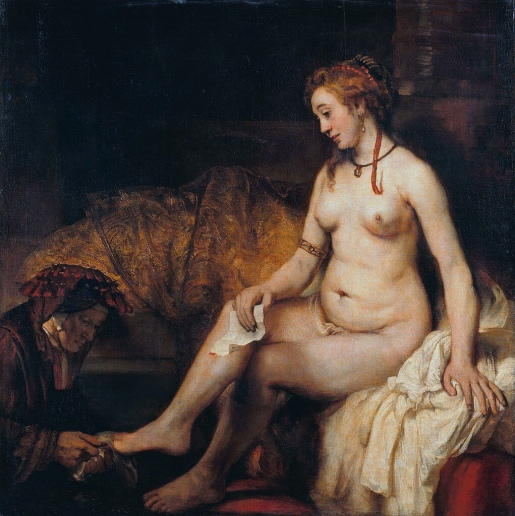 Bathsheba at Her Bath (1654) - Rembrandt