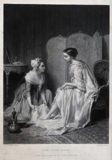 The Foot-Bath (c. 1870) - After Antoine-Émile Plassan