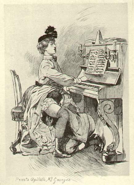 Illustration for La Grande Danse macabre des vifs (1905) - Martin van Maële (2)