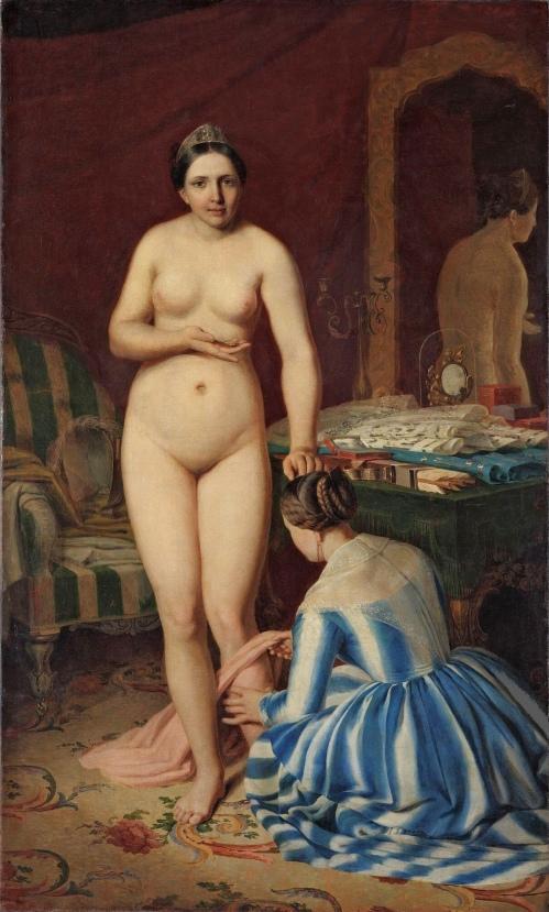 Diana's Toilet (1847) - Alexey Venetsianov