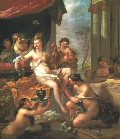 The Toilet of Psyche (1735) - Charles-Joseph Natoire