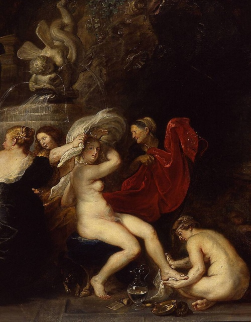 The Bath of Diana (1635-1640) - Peter Paul Rubens