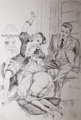 Illustration for Cydalise (1930) - Jean de Sauteval