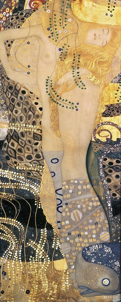 Wasserschlangen I - The Hydra (1904-1907) - Gustav Klimt