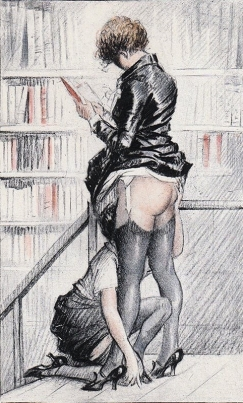 Illustration forFrançoise, ou les plaisirs du mariage(1937) - Rojan