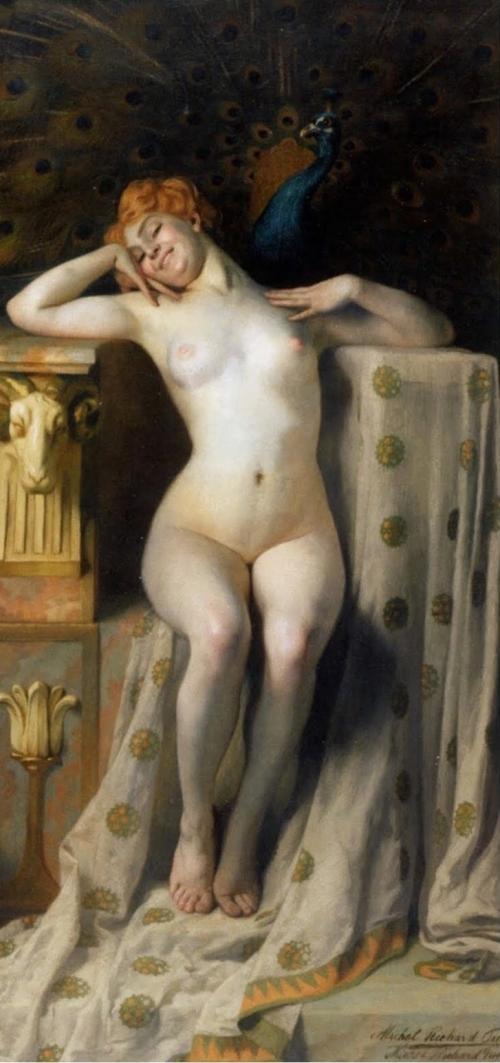 Le Trône de Paon (c. 1905) - Michel Richard-Putz