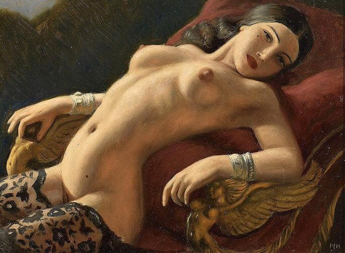 Nude (c. 1920) - Marcel René von Herrfeldt
