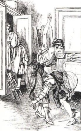 Illustration for La Comtesse au Fouet (1926) - Martin van Maële (2)