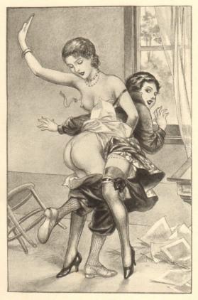 Illustration for Pantalons Sans Défense (1938) - Chéri Hérouard