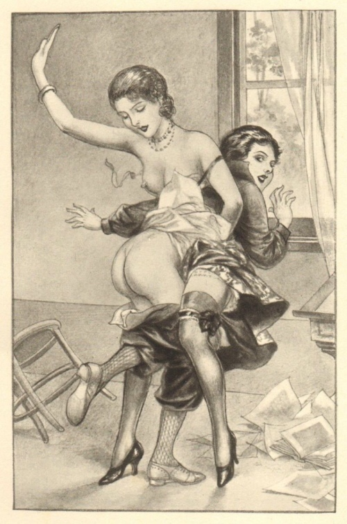 Illustration for Pantalons Sans Défense (1938) - Chéri Hérouard