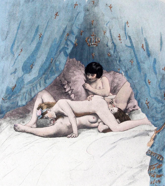 Entre Femmes (c. 1932) - Paul-Émille Bécat