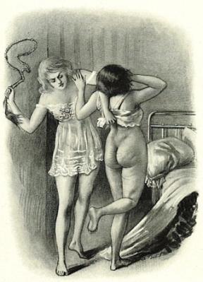 Illustration for La Rêve d'un flagellant (1921) - Georges Topfer