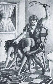Illustrations for Les Malheurs de Colette (1914) - Eric Galton (3)