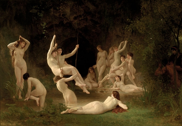 William-Adolphe_Bouguereau_(1825-1905)_-_The_Nymphaeum_(1878)