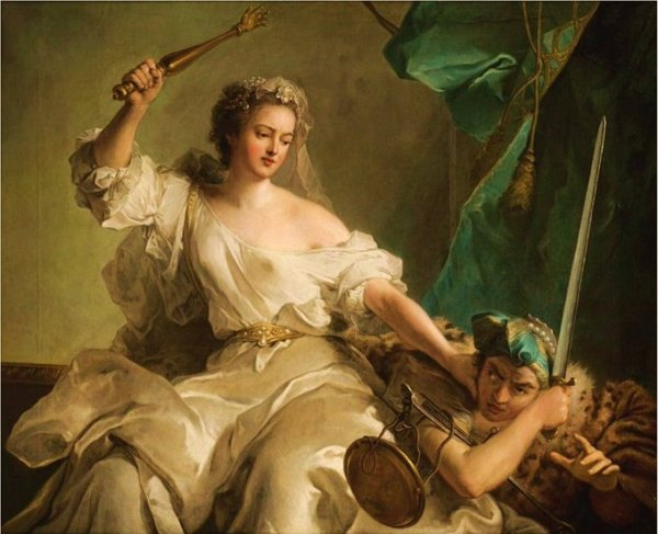 Justice Punishing Injustice (1737) - Jean-Marc Nattier