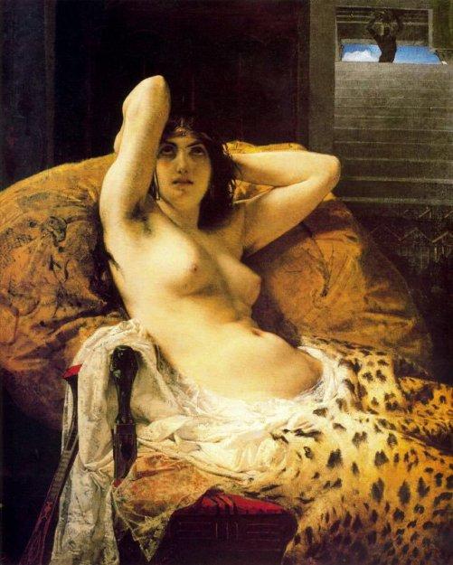 Cleopatra (c. 1890) - Mosè Bianchi