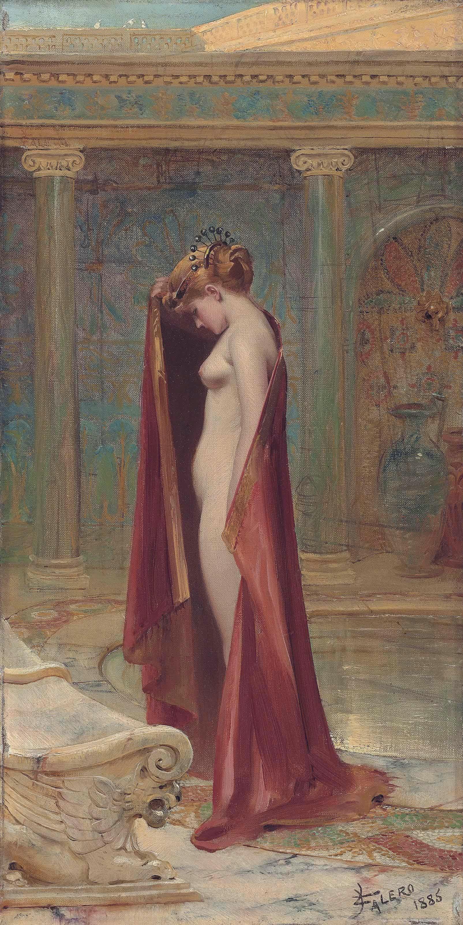 A Beauty (1885) - Luis Ricardo Faléro