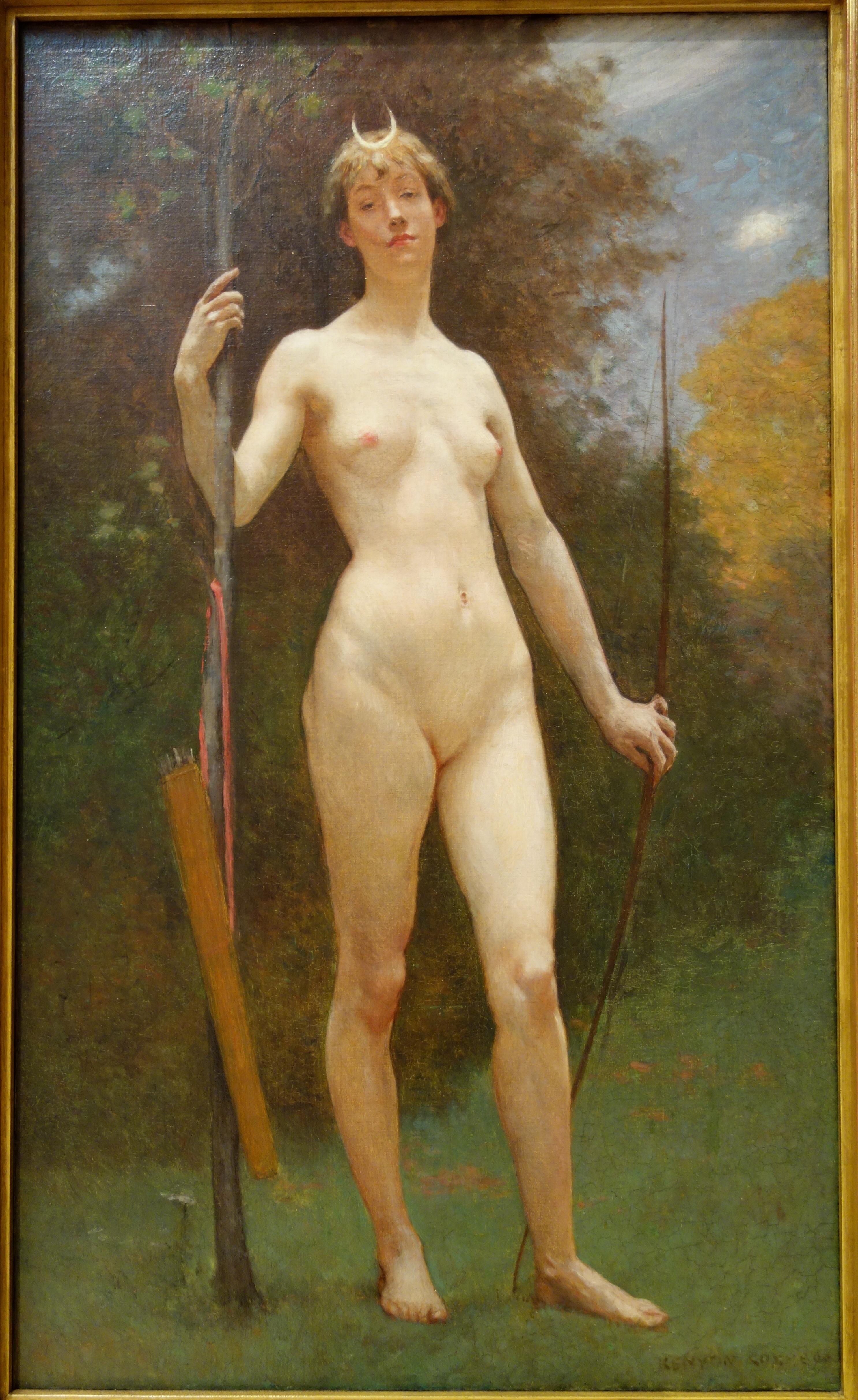Diana (1890) - Kenyon Cox