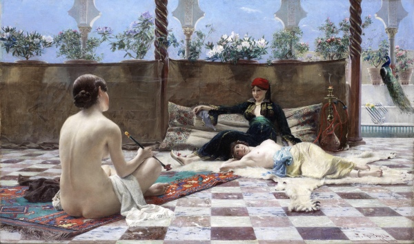 Turkish Women (1893) - Ferdinand Max Bredt