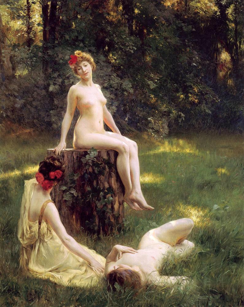 La Clariere (1900) - Julius LeBlanc Stewart