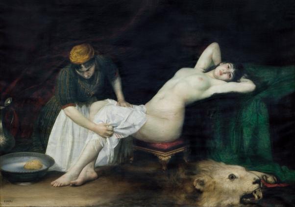 La Grande Iza (1882) - Vlaho Bukovac