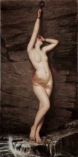 Andromeda (c. 1890) - Vlaho Bukovac