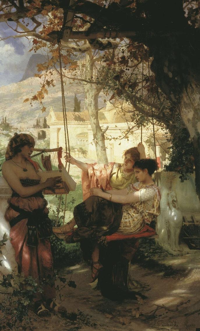 Slave's Song (1884) - Henryk Siemiradzki