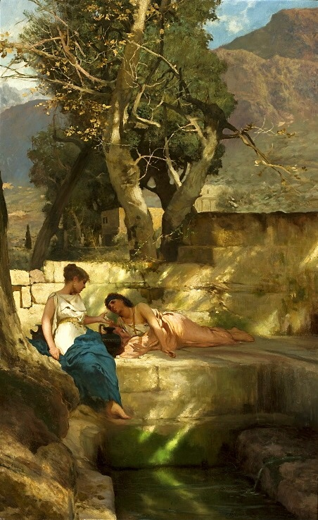 At the Spring (c. 1890) - Henryk Siemiradzki