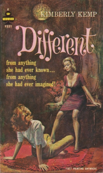 Cover_of_Different_by_Kimberly_Kemp_-_Illustrator_Paul_Rader_-_Midwood_F331_1963
