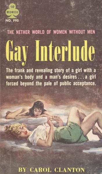 Cover_of_Gay_Interlude_by_Carol_Clanton_-_Illustration_by_Paul_Rader_-_Midwood_F95_1961