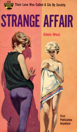 Cover_of_Strange_Affair_by_Edwin_West_-_Illustration_by_Harry_Schaare_-_Monarch_Book_1962