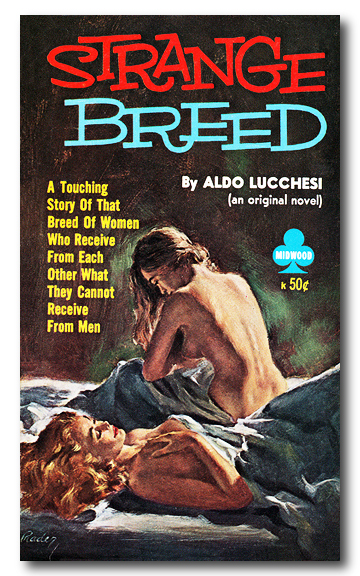 Cover_of_Strange_Breed_by_Aldo_Lucchesi_-_Cover_artist_Paul_Rader_-_Midwood_1960