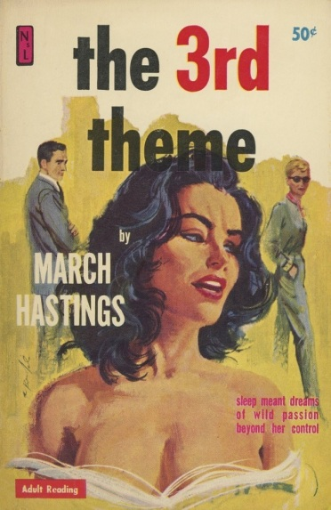 Cover_of_The_3rd_Theme_by_March_Hastings_-_Illustration_signed_Robert_Bonfils_-_Newsstand_Library_1961