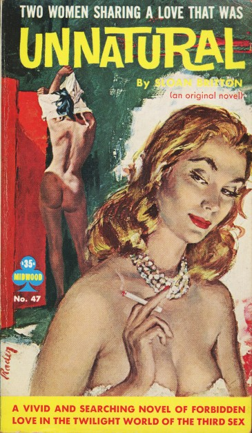 Cover_of_Unnatural_by_Sloan_Britton_-_Illustration_by_Paul_Rader_-_Midwood_Book_1960