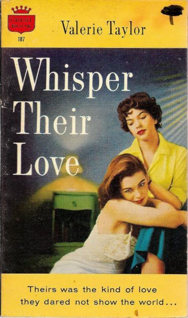 Cover_of_Whisper_Their_Love_by_Valerie_Taylor_-_Crest_Book_187_-_1957