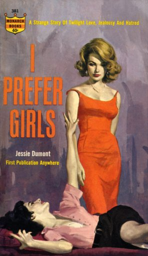 I_PREFER_GIRLS_by_Jessie_Dumont_-_Illustration_by_Robert_Maguire_-_Monarch_381_1963