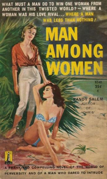 Man_Among_Women_by_Randy_Salem_-_Illustration_by_Uljegren_-_Beacon_B348_1960