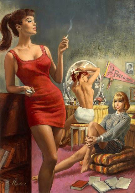 Paul_Rader_-_Girls_Dormitory_-_1963