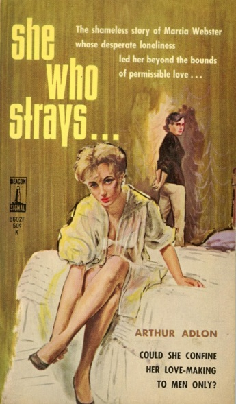 She_Who_Strays_by_Arthur_Adlon_-_Illustrations_by_Darcy_-_Beacon_B602F_1963