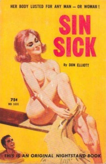 Sin_Sick_by_Don_Elliott_-_Illustration_by_Robert_Bonfils_-_Nightstand_Book_1962