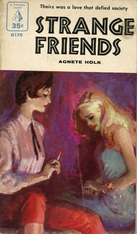 Strange_Friends_by_Agnete_Holk_-_Illustration_by_Ronnie_Lesser_-_Pyramid_Giant_G170_1955