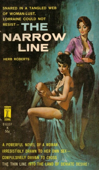 The_Narrow_Line_by_Herb_Roberts_-_Cover_by_Charles_Copeland_-_Beacon_B610F_1963