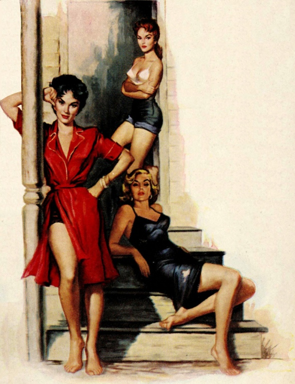 Three_Of_A_Kind_by_Charles_Copeland_-_1957
